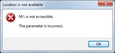 Fix Hard Drive Partition Not Accessible The Parameter Is IncorrectError